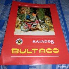 Coches y Motocicletas: CATALOGO BULTACO MATADOR MK3. Lote 98504331