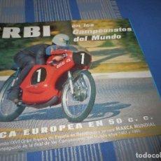 Coches y Motocicletas: CATALOGO DERBI 49 ANTORCHA. Lote 98504599