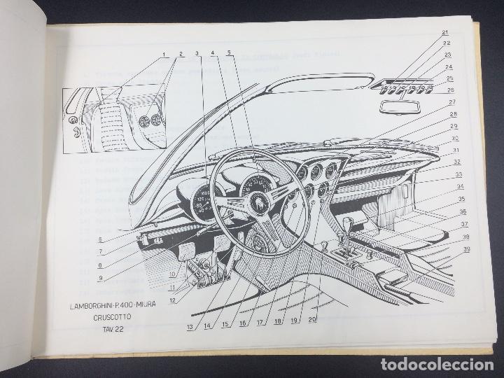 Coches y Motocicletas: Manual de uso y mantenimiento Lamborghini P400 Miura. Original. Uso e manutencione. - Foto 5 - 98637723