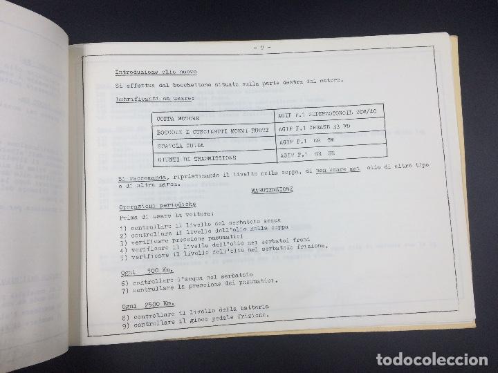 Coches y Motocicletas: Manual de uso y mantenimiento Lamborghini P400 Miura. Original. Uso e manutencione. - Foto 6 - 98637723