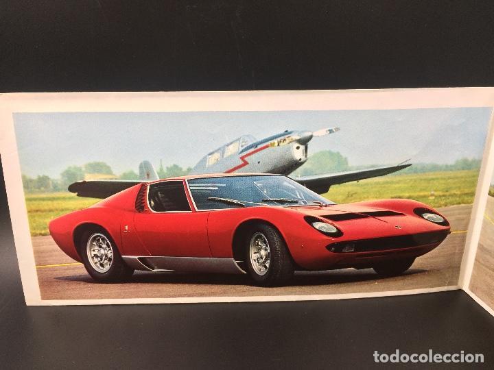 Coches y Motocicletas: Catálogo desplegable de publicidad del Lamborghini Miura P400 S - Foto 2 - 98638519