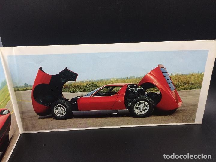 Coches y Motocicletas: Catálogo desplegable de publicidad del Lamborghini Miura P400 S - Foto 3 - 98638519