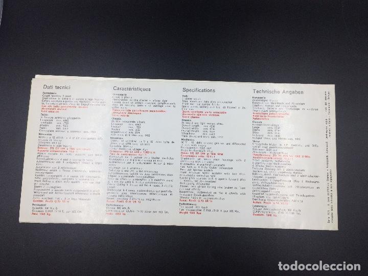 Coches y Motocicletas: Catálogo desplegable de publicidad del Lamborghini Miura P400 S - Foto 4 - 98638519