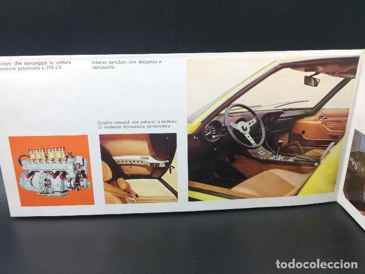Coches y Motocicletas: Catálogo desplegable de publicidad del Lamborghini Miura P400 S - Foto 5 - 98638519