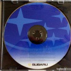 Coches y Motocicletas: CD ORIGINAL- DOSSIER DE PRENSA. SUBARU.. Lote 98935951
