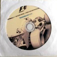 Coches y Motocicletas: CD ORIGINAL- DOSSIER DE PRENSA. FORMULA 1 PREIS VON DEUTSCHLAND 2006.. Lote 98937183