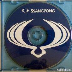 Coches y Motocicletas: CD ORIGINAL- DOSSIER DE PRENSA. SSANGYONG.. Lote 98937315