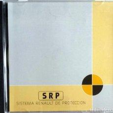 Coches y Motocicletas: CD ORIGINAL- DOSSIER DE PRENSA. SISTEMA RENAULT DE PROTECCIÓN - 1998.. Lote 99083051