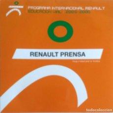 Coches y Motocicletas: CD ORIGINAL- DOSSIER DE PRENSA. RENAULT EDUCACION VIAL 2005 - 2006.. Lote 99083327
