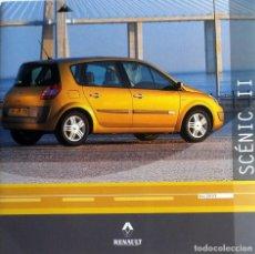 Coches y Motocicletas: CD ORIGINAL- DOSSIER DE PRENSA. RENAULT SCÉNIC II - 2003.. Lote 99084079