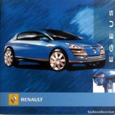Coches y Motocicletas: CD ORIGINAL- DOSSIER DE PRENSA. RENAULT EGEUS.. Lote 99166283