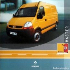 Coches y Motocicletas: CD ORIGINAL- DOSSIER DE PRENSA. RENAULT NEW MASTER.. Lote 99167259