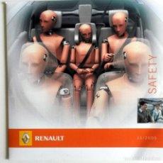 Coches y Motocicletas: CD ORIGINAL- DOSSIER DE PRENSA. RENAULT SAFETY - 2005.. Lote 99167747