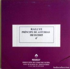 Coches y Motocicletas: CD ORIGINAL- DOSSIER DE PRENSA. RENAULT RALLYE PRINCIPE DE ASTURIAS - 2005.. Lote 99168539