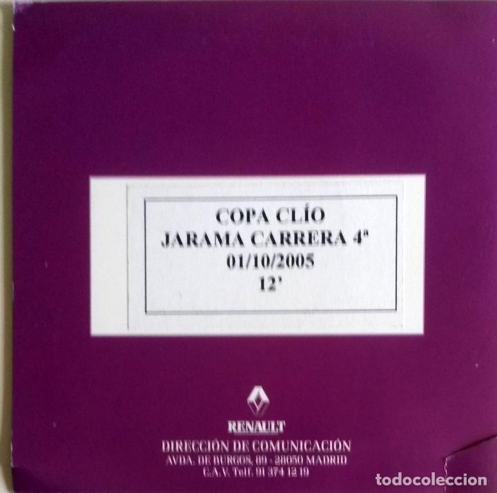 CD ORIGINAL- DOSSIER DE PRENSA. RENAULT COPA CLIO CIRCUITO DE JARAMA 4ª CARRERA- 2005. (Coches y Motocicletas Antiguas y Clásicas - Catálogos, Publicidad y Libros de mecánica)