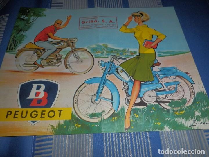 CATALOGO CICLOMOTORES PEUGEOT MOVESA (Coches y Motocicletas Antiguas y Clásicas - Catálogos, Publicidad y Libros de mecánica)