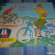 Coches y Motocicletas: CATALOGO CICLOMOTORES PEUGEOT MOVESA. Lote 138586612