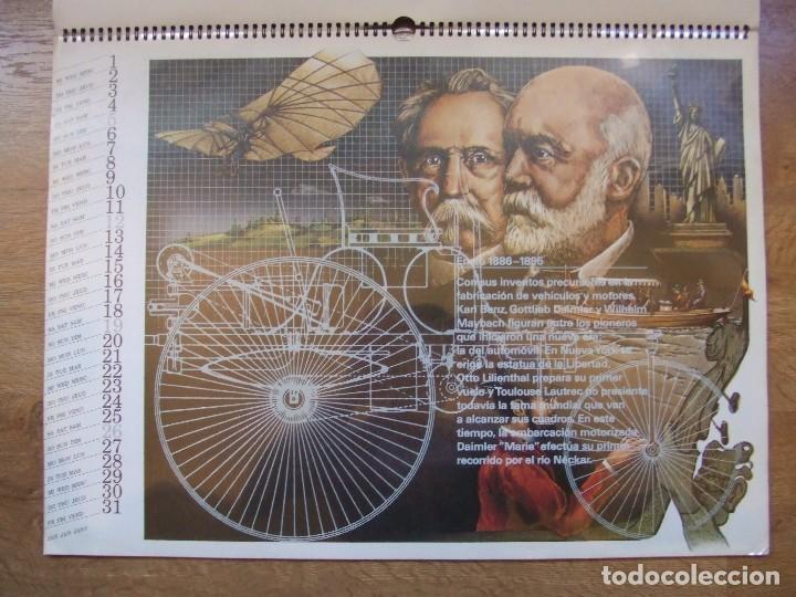 Coches y Motocicletas: MERCEDES BENZ CALENDARIO PROMOCIONAL CENTENARIO AÑO 1986 - Foto 6 - 99366083