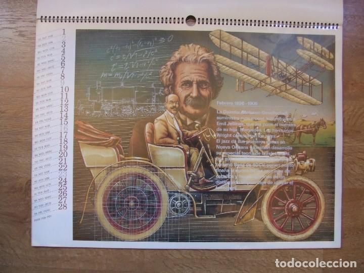 Coches y Motocicletas: MERCEDES BENZ CALENDARIO PROMOCIONAL CENTENARIO AÑO 1986 - Foto 8 - 99366083
