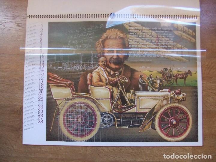 Coches y Motocicletas: MERCEDES BENZ CALENDARIO PROMOCIONAL CENTENARIO AÑO 1986 - Foto 9 - 99366083
