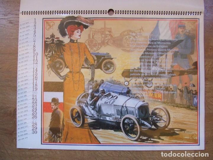 Coches y Motocicletas: MERCEDES BENZ CALENDARIO PROMOCIONAL CENTENARIO AÑO 1986 - Foto 11 - 99366083