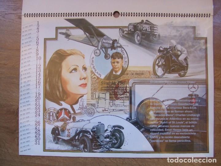 Coches y Motocicletas: MERCEDES BENZ CALENDARIO PROMOCIONAL CENTENARIO AÑO 1986 - Foto 12 - 99366083