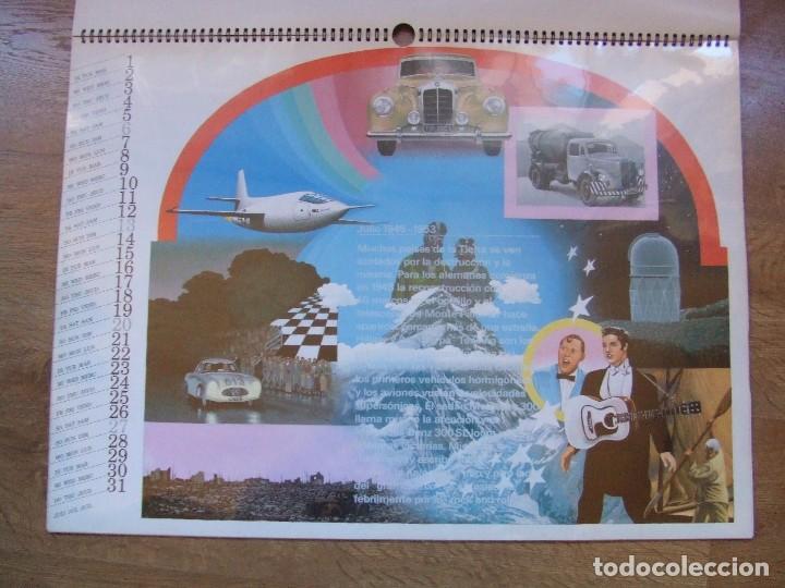 Coches y Motocicletas: MERCEDES BENZ CALENDARIO PROMOCIONAL CENTENARIO AÑO 1986 - Foto 14 - 99366083