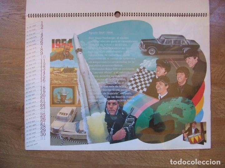 Coches y Motocicletas: MERCEDES BENZ CALENDARIO PROMOCIONAL CENTENARIO AÑO 1986 - Foto 15 - 99366083