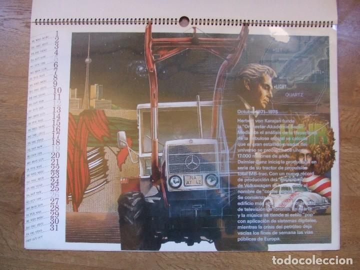 Coches y Motocicletas: MERCEDES BENZ CALENDARIO PROMOCIONAL CENTENARIO AÑO 1986 - Foto 17 - 99366083