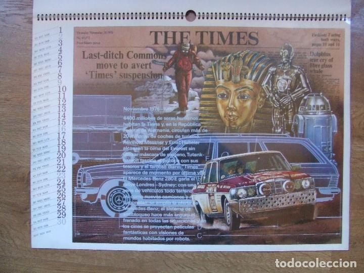 Coches y Motocicletas: MERCEDES BENZ CALENDARIO PROMOCIONAL CENTENARIO AÑO 1986 - Foto 18 - 99366083