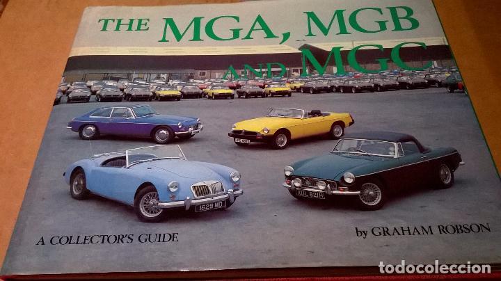 LIBRO COCHE MG.EDITADO EN INGLES.135 PG (Coches y Motocicletas Antiguas y Clásicas - Catálogos, Publicidad y Libros de mecánica)