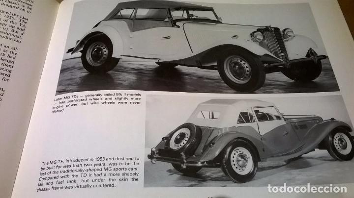 Coches y Motocicletas: Libro coche MG.Editado en ingles.135 pg - Foto 2 - 99555087