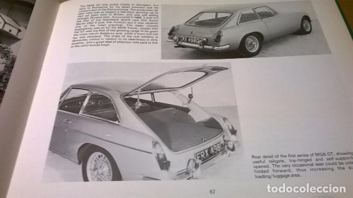 Coches y Motocicletas: Libro coche MG.Editado en ingles.135 pg - Foto 3 - 99555087