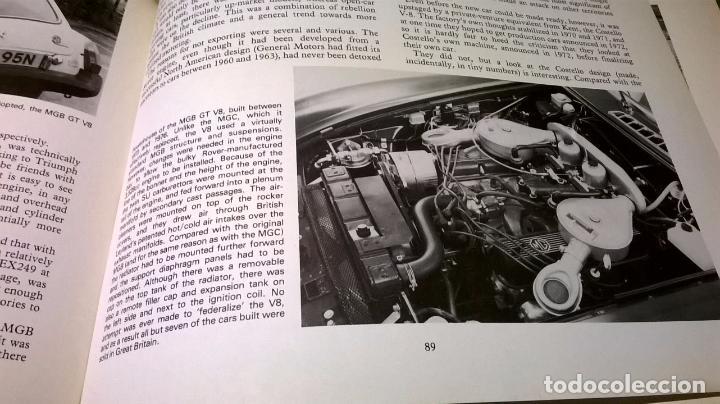 Coches y Motocicletas: Libro coche MG.Editado en ingles.135 pg - Foto 4 - 99555087