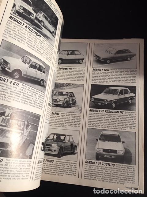 Coches y Motocicletas: catalogo 80 de la revista velocidad anual 1131 automoviles de todo el mundo 1980 - Foto 2 - 257390935