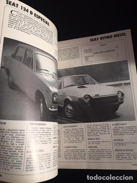 Coches y Motocicletas: catalogo 80 de la revista velocidad anual 1131 automoviles de todo el mundo 1980 - Foto 4 - 257390935