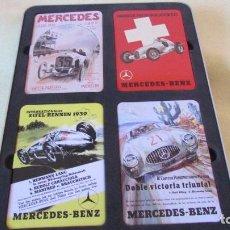 Coches y Motocicletas: CAJA IMANES MERCEDES BENZ MOMENTOS DE LEYENDA. Lote 100077427