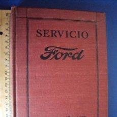 Coches y Motocicletas: (RE-171000)LIBRO DE SERVICIO FORD ORIGINAL DE 1927 EN ESPAÑOL.. Lote 100146079