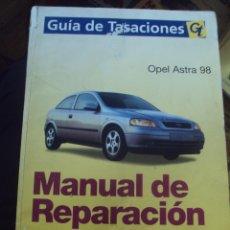 Coches y Motocicletas: MANUAL DE REPARACION OPEL ASTRA 98.GUIA DE TASACIONES. 373PAGINAS. DIN A4.. Lote 100415047
