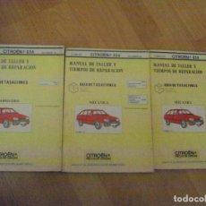 Coches y Motocicletas - CITROEN GSA. MANUAL DE TALLER Y TIEMPOS DE REPARACIÓN GUÍA DE TASACIONES DICIEMBRE 1981 - 100545043