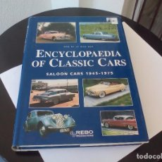 Coches y Motocicletas: ENCYCLOPAEDIA OF CLASSIC CARS. ROB DE LA RIVE BOX. SALOON CARS 1945-1975. COCHES CLASICOS.1999. Lote 101025155