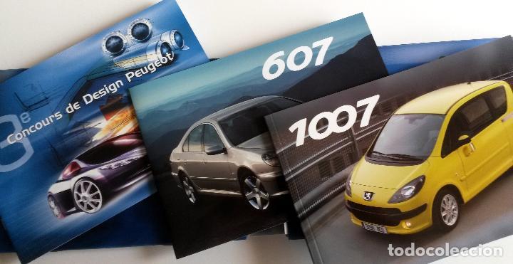 Coches y Motocicletas: DOSSIER DE PRENSA OFICIAL PEUGEOT - MUNDIAL DEL AUTOMÓVIL 2004 - Texto en FRANCÉS. - Foto 4 - 101382511