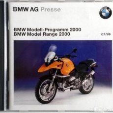 Coches y Motocicletas: DOSSIER DE PRENSA OFICIAL BMW MODEL RANGE 2000.. Lote 101387007
