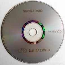 Coches y Motocicletas: DOSSIER DE PRENSA OFICIAL DAEWOO NUBIRA 2003 - TEXTO EN INGLÉS.. Lote 101389607