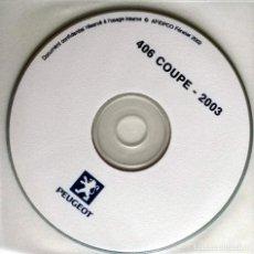 Coches y Motocicletas: DOSSIER DE PRENSA OFICIAL PEUGEOT 406 - 2003 - TEXTO EN FRANCÉS.. Lote 101390983