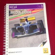 Coches y Motocicletas: MEDIA GUIDE - RENAULT SPORT - 2012. Lote 101456191