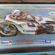 Automobili e Motociclette: POSTER ANGEL NIETO ,REVISTA MOTOCICLISMO AÑO 1978.. Lote 101537695