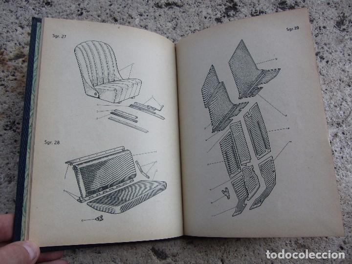 Coches y Motocicletas: FIAT 500 C y B catlogo piezas de carroceria en español 1949 - Foto 5 - 143206390