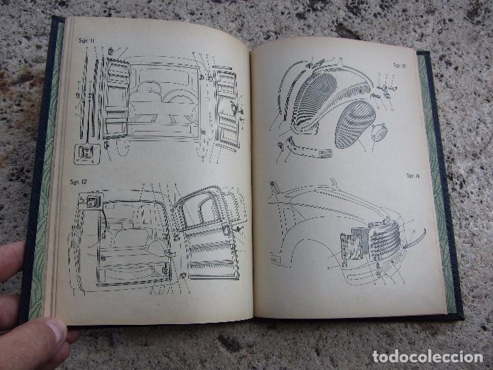 Coches y Motocicletas: FIAT 500 C y B catlogo piezas de carroceria en español 1949 - Foto 6 - 143206390