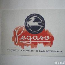Coches y Motocicletas: PEGASO. Lote 102766531